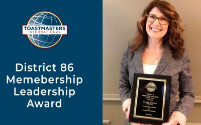 District 86 Membership Leadership Award