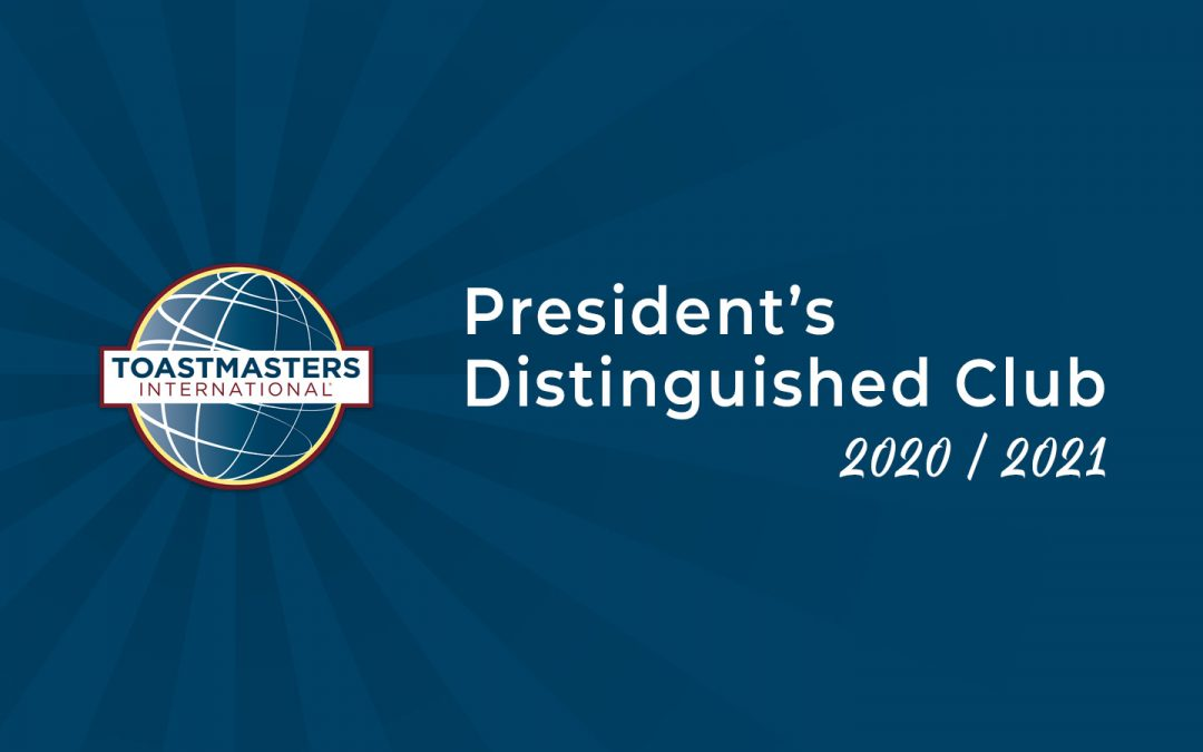 President's Distinguished Club – 2020/2021