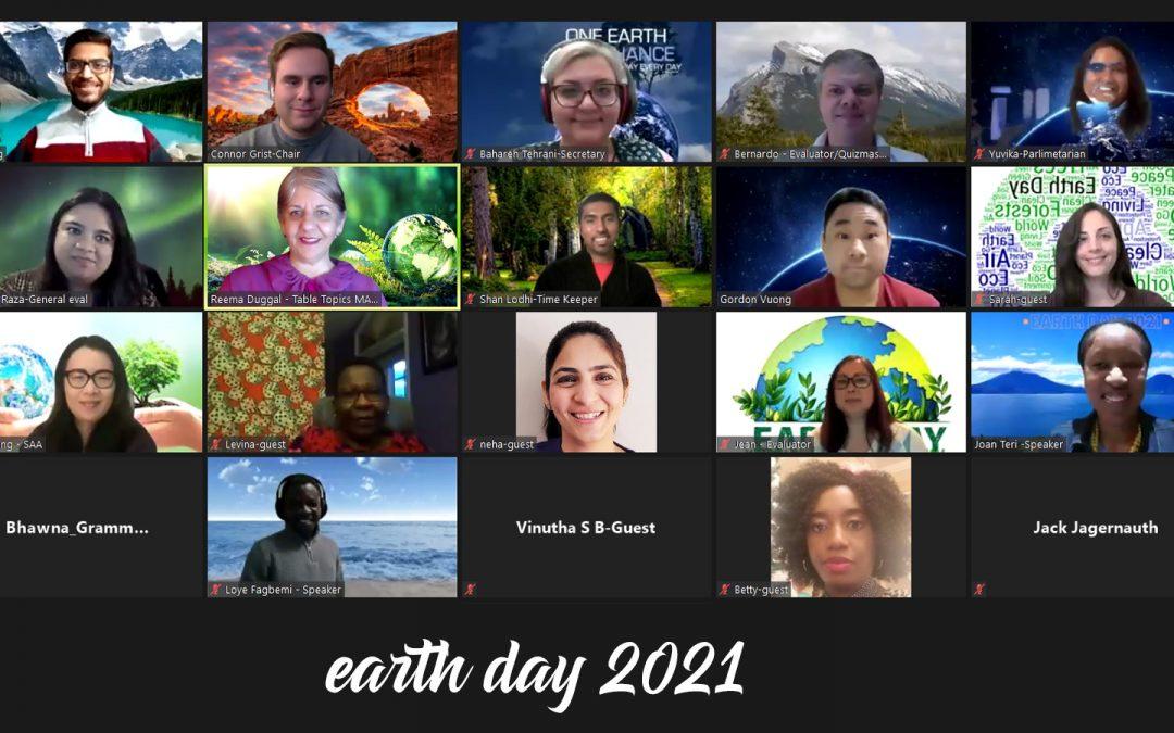 Earth Day Meeting 2021